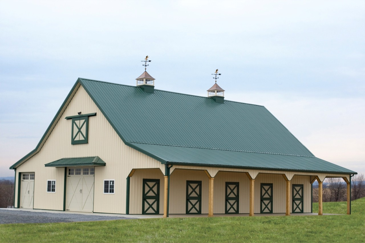 Equestrian Pole Building