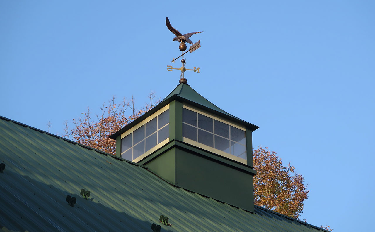 Construction - Weathervanes & Cupolas